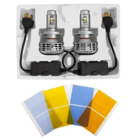 Набор светодиодного головного света UP-6HL (H4, 3000 лм, совместим с CAN-шиной) Превью 1