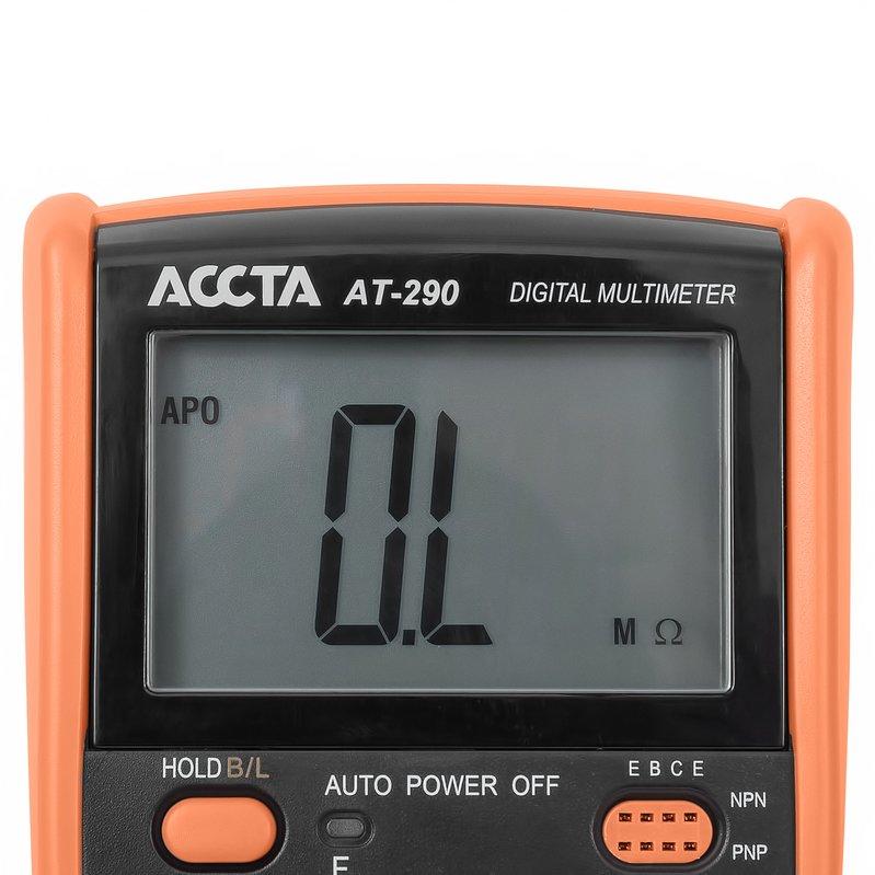 Цифровий мультиметр Accta AT-290 Зображення 5