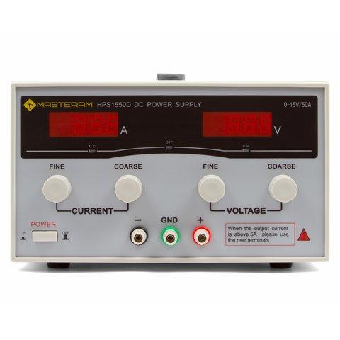 Лабораторный блок питания Masteram HPS1550D - Просмотр 2