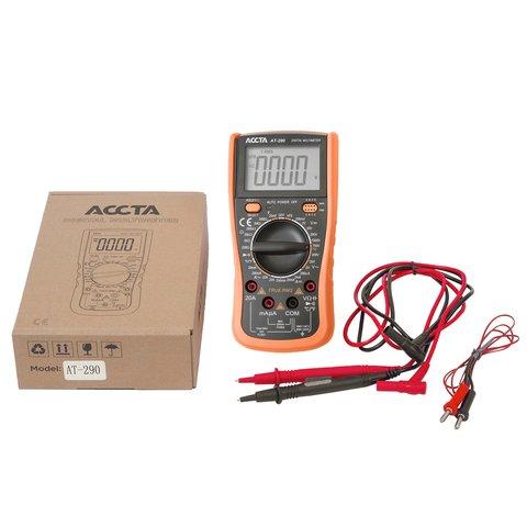 Цифровий мультиметр Accta AT-290 Прев'ю 5