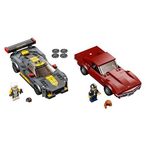 Конструктор LEGO Скоростные гонки Chevrolet Corvette 76903 Превью 1
