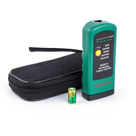 Mastech MS6811 Network Cable Tester Preview 1