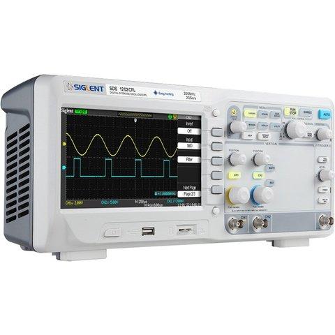 Digital Oscilloscope SIGLENT SDS1202CFL Preview 2